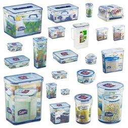 Lock and & Lock Plastic Food Storage Air Tight Containers Ca