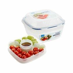 Lock&Lock  Salad Lunch Box 1.6ℓ  HSM8450T