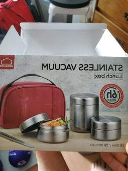 Lock & Lock Stainless Steel Insulated Lunch Box  Bag 350ml,