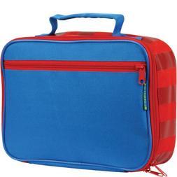Stephen Joseph Lunch Box, Red/Blue