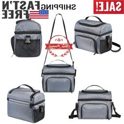 Lunch Bag -  Cooler Bag Insulated Leakproof Lunch Box with S