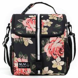 Lunch Bag for Women Adjustable Shoulder Water Leakproof Insu
