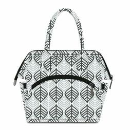 Lunch Bag for Womens Insulated Cooler Lunchbox Tote Bags for