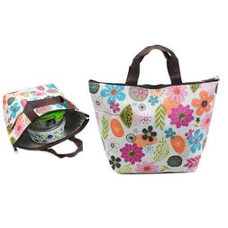Lunch Bag Waterproof Insulated Tote Thermal Box Cooler Trave