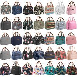 LOKASS Lunch Bag Women Tote Bag Waterproof Cooler Insulated