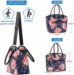 Lunch Bags for Women Large Insulated Lunch Box Waterproof To