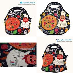 Shubb Lunch Bags, Insulated Lunch Bag, Neoprene Lunch Tote B