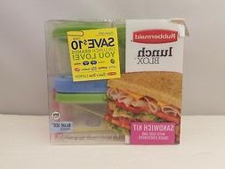 Rubbermaid Lunch Blox Kit