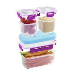 Rubbermaid Lunch Blox Snack Kit With Side and Snack Containe