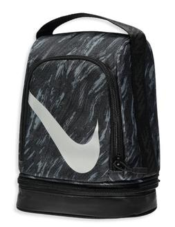 Nike Lunch Box 2 compartments Black Gray  Bag Tote