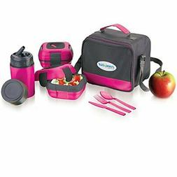 Lunch Box Bag Set for Adults and Kids ~ Pinnacle Insulated L