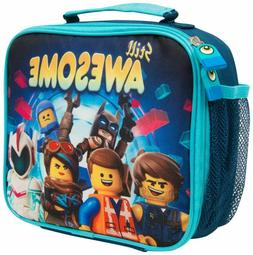 LEGO Movie 2 Lunch Box Batman Insulated Container for Boys w