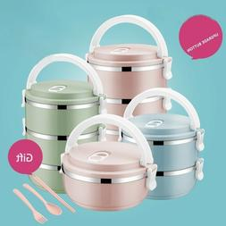 Lunch Box For Kids Food Container Thermal Bento Box With Com