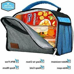 Aofmee Lunch Box for Women Men, Insulated Lunch Bags for Boy
