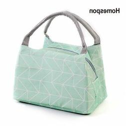 Homespon Lunch Box Insulated Lunch Bag Container Bag Spoon a