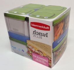 Rubbermaid Lunch Box Kit Storage Blox Set Sandwich Container