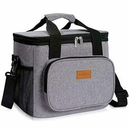 Lunch Box Large Insulated Soft Cooler Cooling Tote for Adult