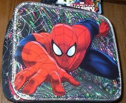 SPIDERMAN Lunch Box NeW Fully Insulated 3-D Lunch Box Bag Sp