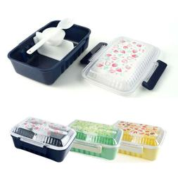 Lunch Box Picnic School Food Container Travel Bento Storage