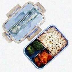 Lunch Box Portable Bento Box Food Storage Container Microwav