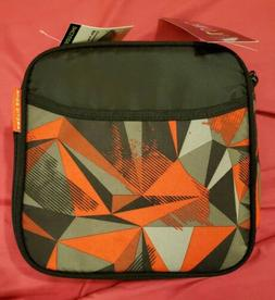 Arctic zone lunch box red and black pattern. Back to school.