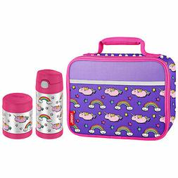 Thermos Lunch Box Set, Chubby Unicorn