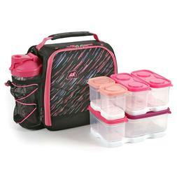 Arctic Zone Lunch Box Set Portion Control Fuel Pack  Insulat