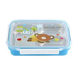 Lunch Box Stainless Steel Leak-Proof Insulation Cartoon Bent