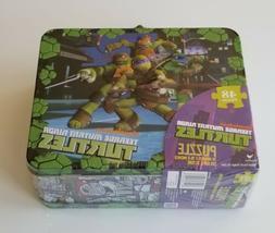 Lunch Box Teenage Mutant Ninja Turtles With 48 Pc Puzzle TMN