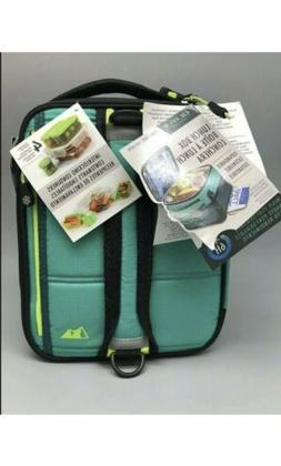 Arctic Zone Lunch Box with 1 Ice Pack - Teal/Green