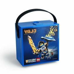 Lego Lunch Box with Handle Nexo Knights Food Container