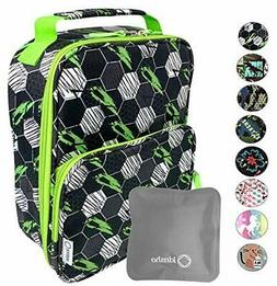 Lunch Box with Ice Pack for Boys Kids Tweens Teens Insulated