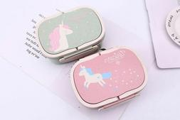 Lunch Box with Unicorn Cartoon for Students Food Storage Ben