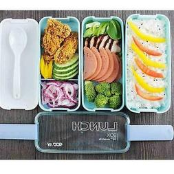 Lunch Boxes Microwavable Box For Kids Picnic Food Containers