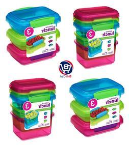 Sistema Lunch Kitchen Food Storage Container 200/400ml Pack-
