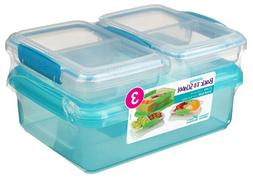 Sistema Lunch Pack Lunch Box Containers Blue