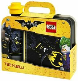 Lego Lunch Set Batman the Movie Box and Bottle Container