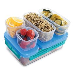 Rubbermaid LunchBlox Leak-Proof Entree Lunch Container Kit,