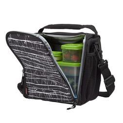 Rubbermaid LunchBlox Lunch Bag, Medium, Black Etch 1813501