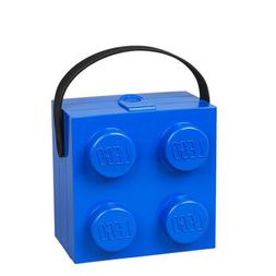 LEGO Lunchbox with Handle, Bright Blue