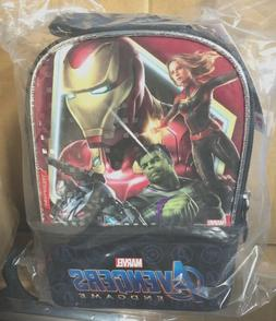 Marvel Avengers End Game  Insulated Dual Compartment Lunch B