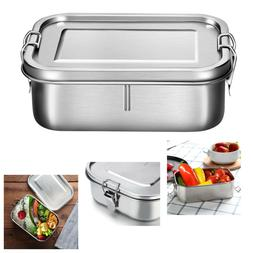 Metal Bento Box Stainless Steel Lunch Box 800ml Leakproof  B