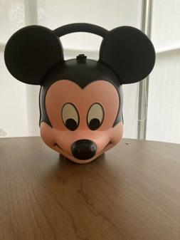Aladdin - Mickey Mouse Head Lunch Box w/ Thermos Walt Disney