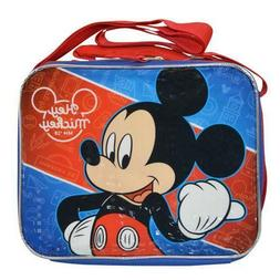 Mickey Mouse Rectangle Lunch Bag with Strap