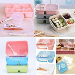 Microwave Bento Lunch Box/Picnic Food Fruit Container Storag