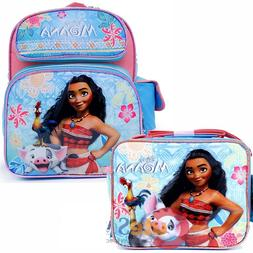 """Disney Moana SMALL toddler travel Backpack 12"""" Inch book bag"""