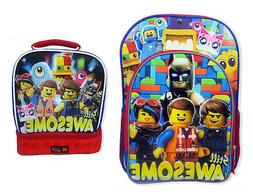 """Lego Movie Kids Awesome Back To School Set - 16"""" Backpack"""
