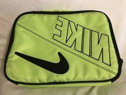Nike Neon Yellow Swoosh Insulated Lunch Box New