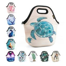 Neoprene Insulated Lunch Bag for Girls Kids Waterproof Large