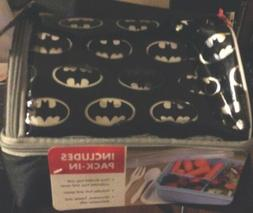 NEW Thermos Batman Lunch Box Set with Pack In